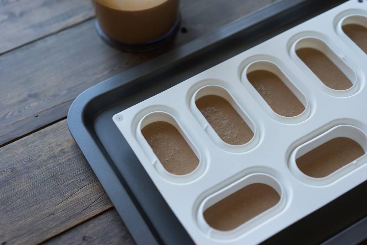 Муссовое пирожное, карамельная зеркальная глазурь, кофейный мусс, кофейное кремё, кофейная начинка, сабле, пошаговый рецепт с фото как приготовить, блог andychef.ru