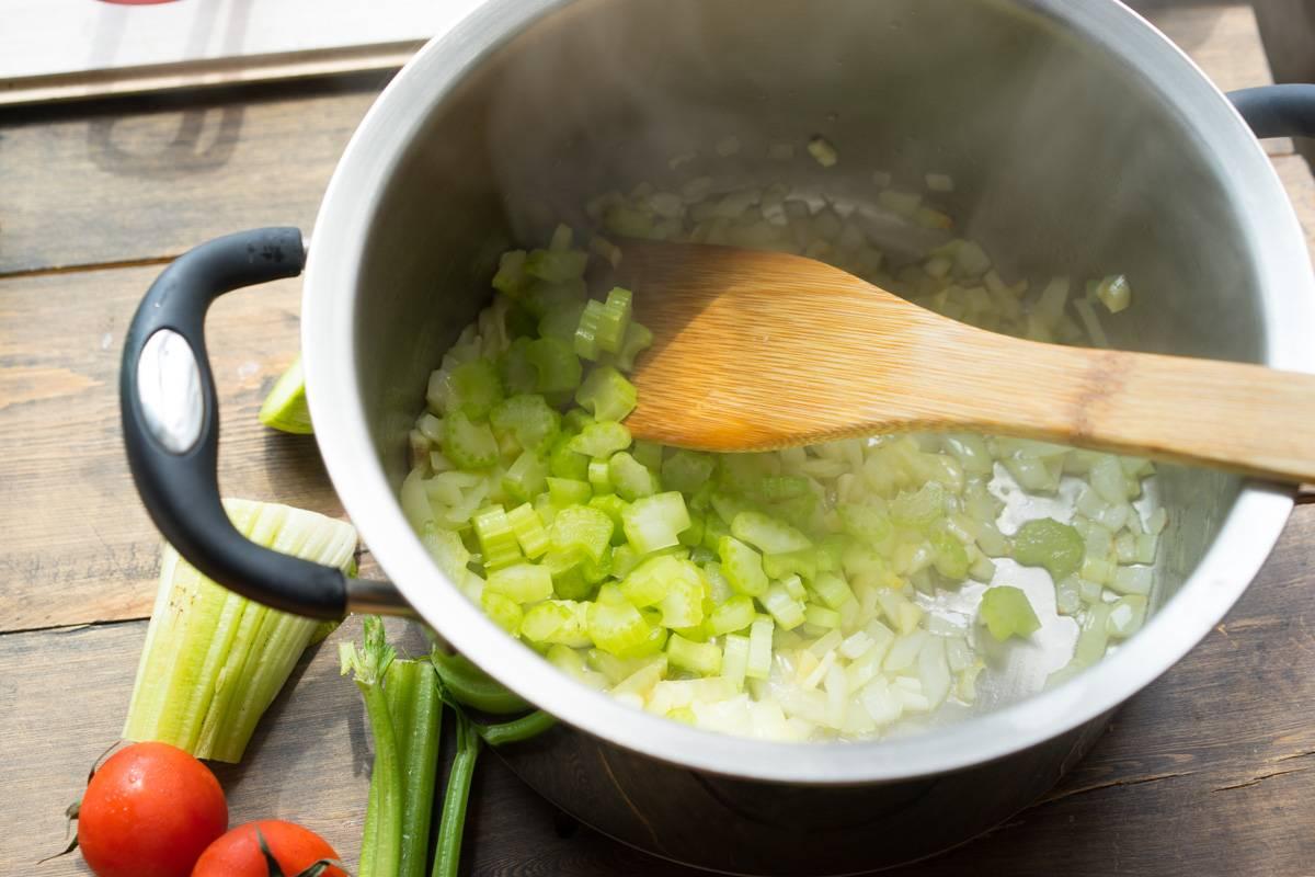 Как приготовить суп минестроне, пошаговый рецепт с фото, блог и интернет-магазин andychef.ru