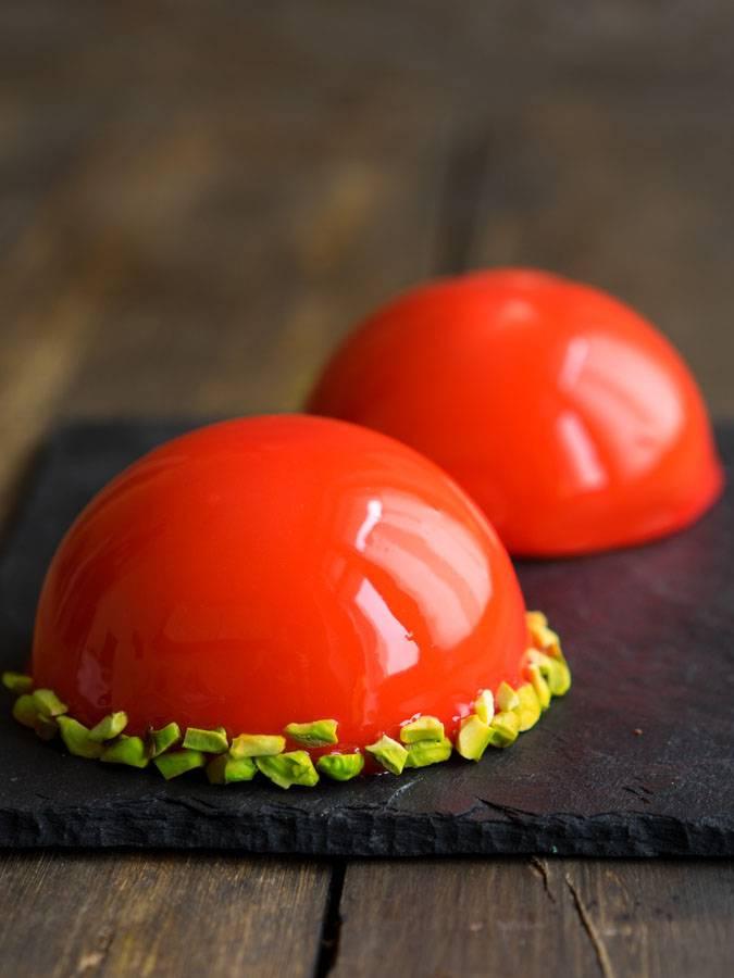 """Современные десерты: муссовое пирожное """"Евразия"""" с зеркальной глазурью - Andy Chef - блог о еде и путешествиях, пошаговые рецепты, интернет-магазин для кондитеров"""