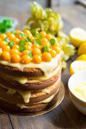 торт лимон рецепты пошаговые с фото