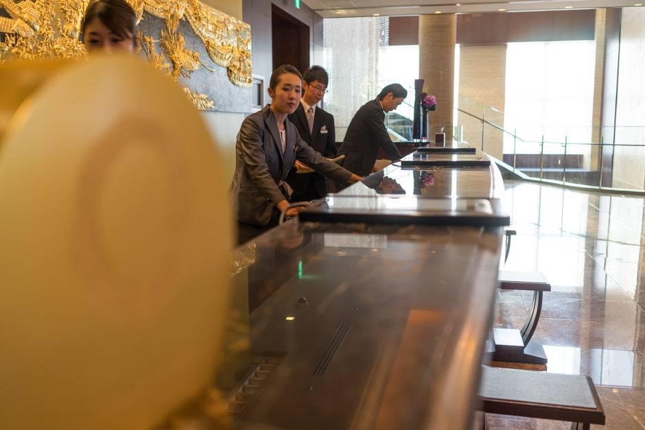 Отель в Японии Shangri-La Tokyo, обзор отеля в Токио, фотографии