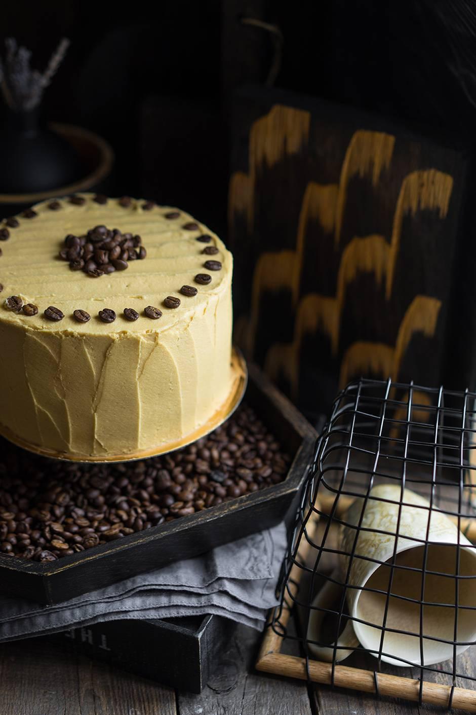 Кофейный торт своими руками