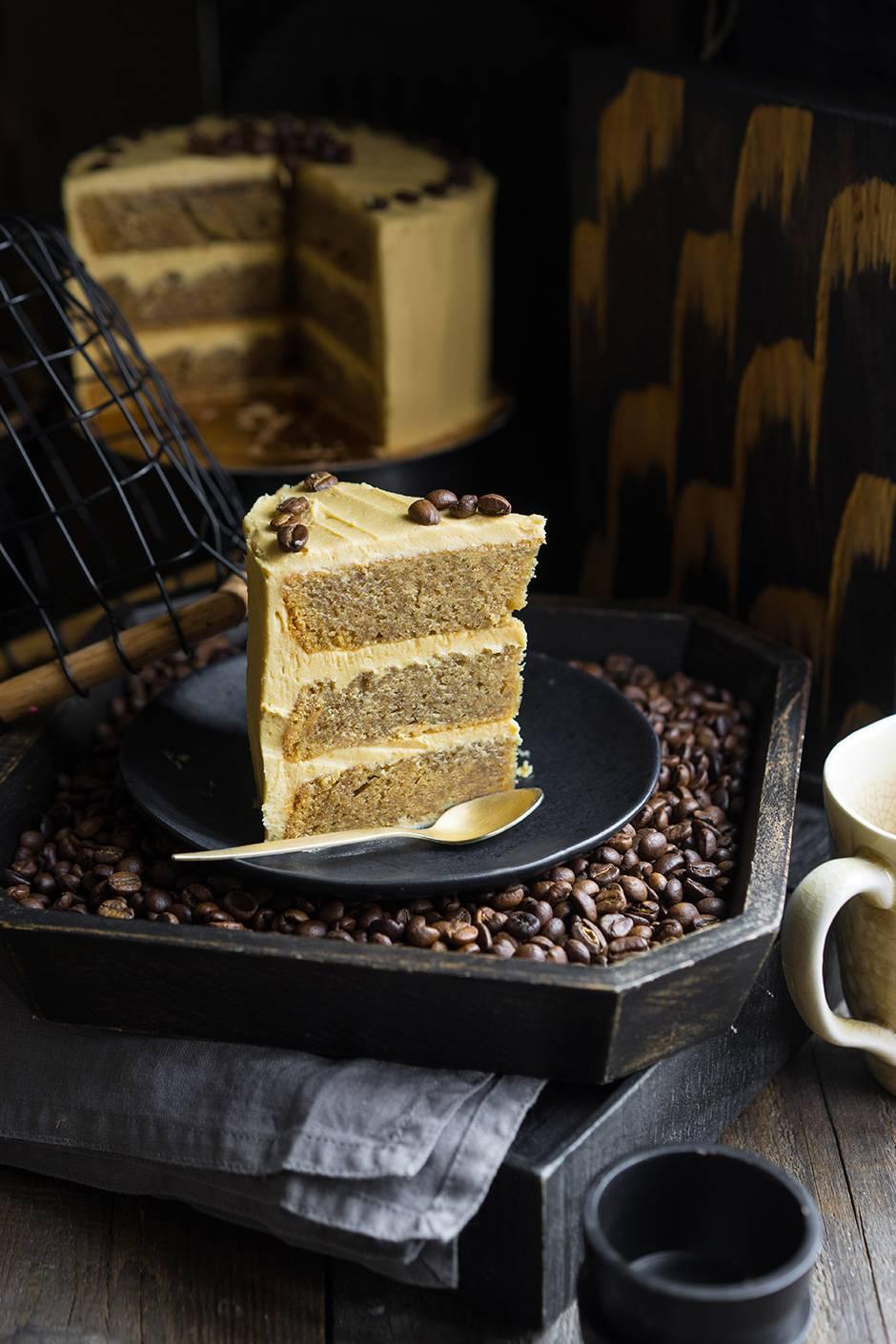 Кофейный торт своими руками фото 688