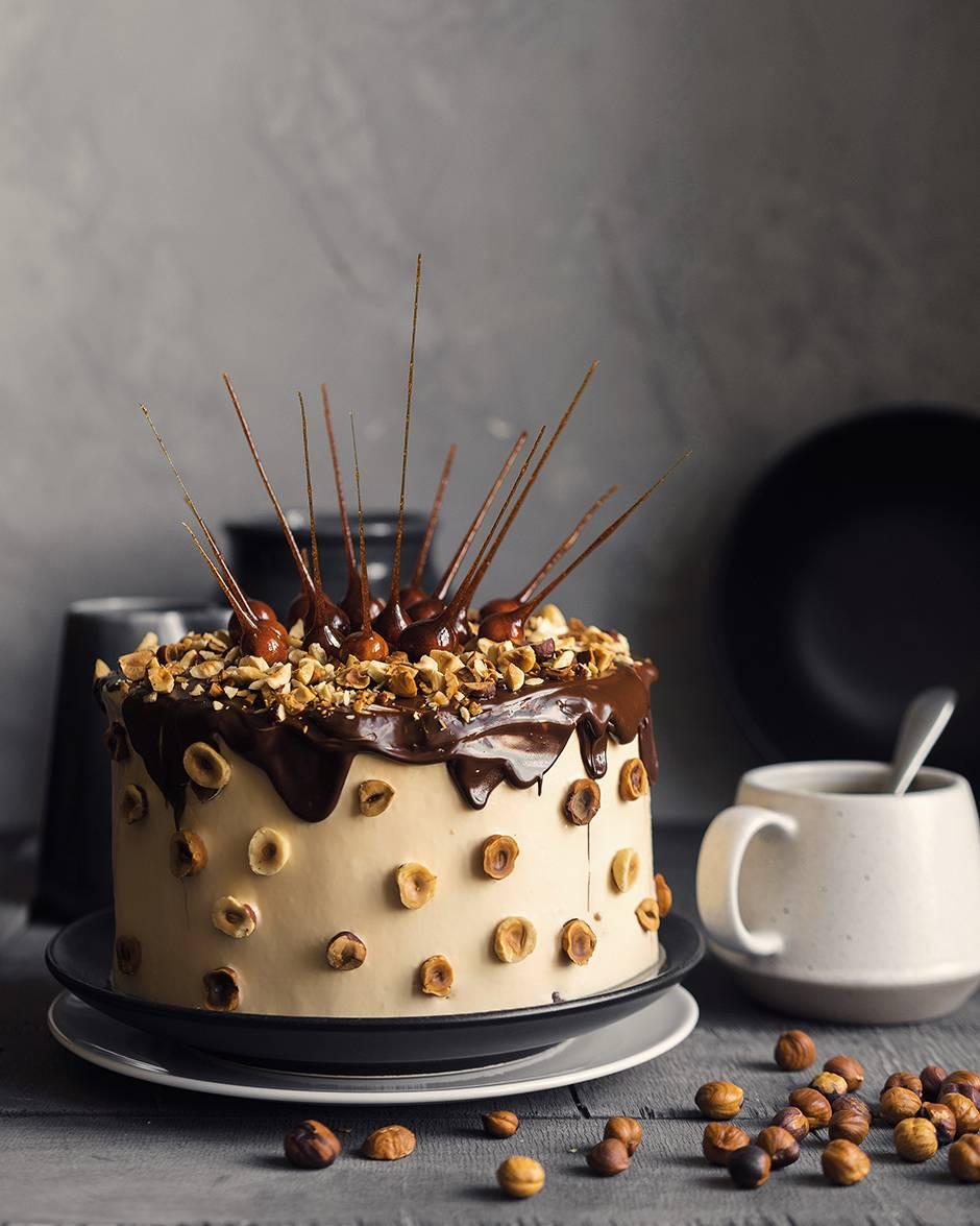 фундук в карамели для торта рецепт