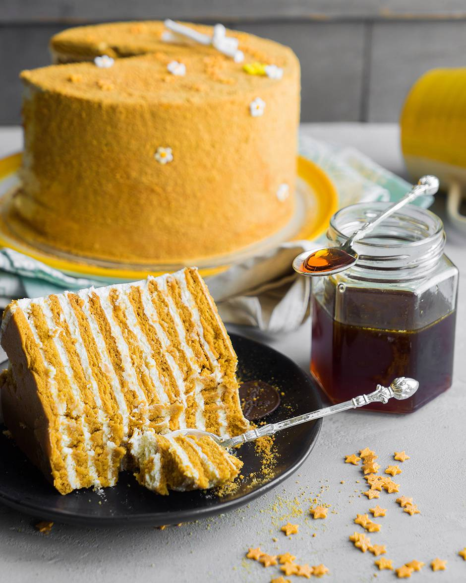 медовый торт от энди шефа рецепт