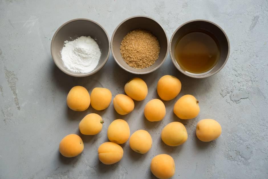 приготовление абрикосового тарта