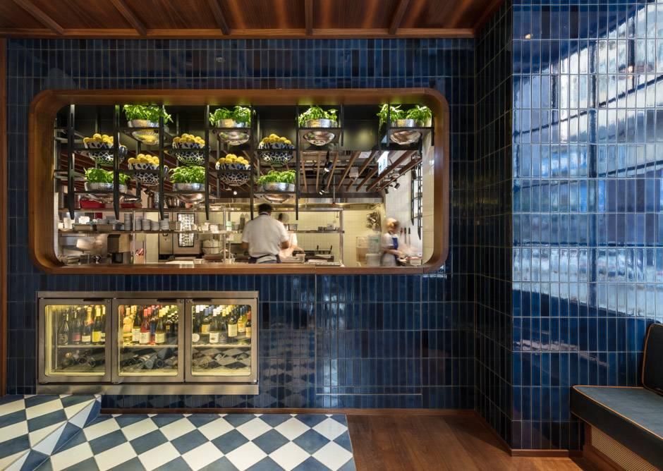 44. Osteria Marzia Kitchen