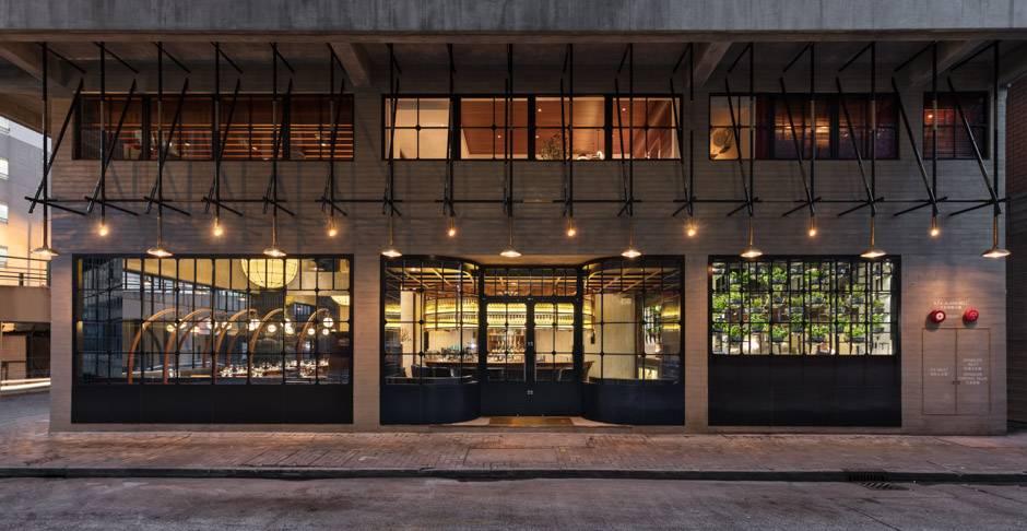 46. Restaurant Main Entrance and Facade